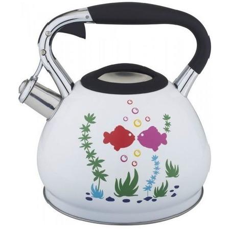 Купить Чайник со свистком Bekker BK-S594 Premium. В ассортименте