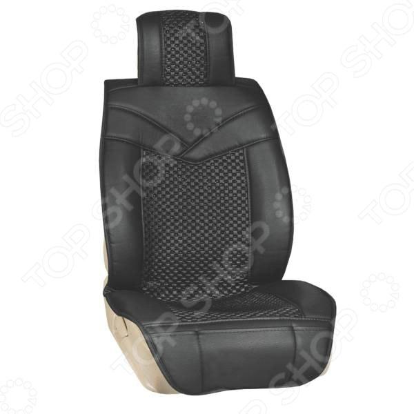 Набор чехлов для сидений SKYWAY «Люкс. Премиум-класс. С пупырышками» Набор чехлов для сидений SKYWAY S01301108 /Черный