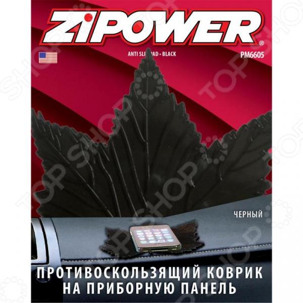Коврик противоскользящий на приборную панель Zipower PM 6605
