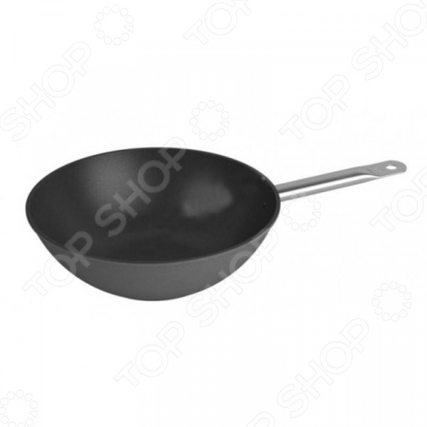 Сковорода вок Нева-металл Prof Master 93130 W сковорода нева металл 95126 prof master 26 см алюминий