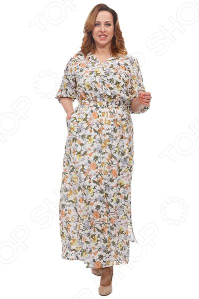 Платье Blagof «Цветана». Цвет: молочный