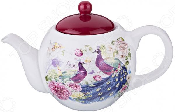 Чайник заварочный Agness «Павлины» 358-1064