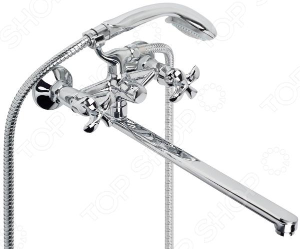 Смеситель для ванны и умывальника с плоским изливом Argo Iris