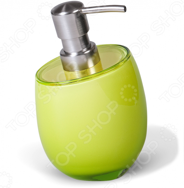 Диспенсер для мыла Tatkraft Repose полка для ванной комнаты tatkraft mega lock vena цвет серый металлик