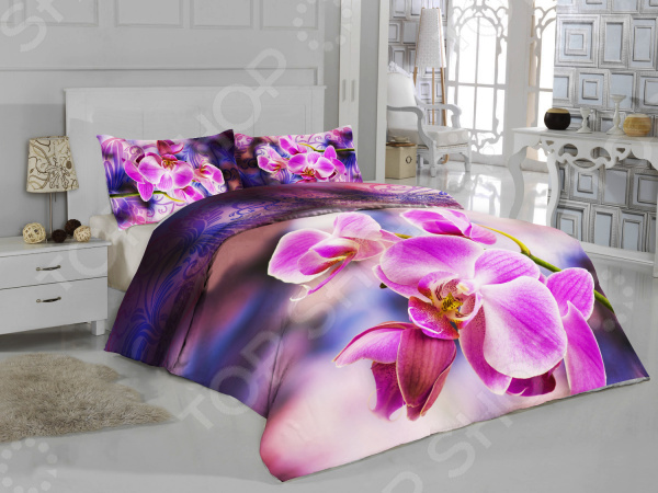 цена Комплект постельного белья ТамиТекс «Орхидея» онлайн в 2017 году