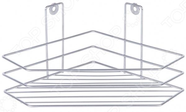 Полка для ванной комнаты угловая Rosenberg RUS-385044-1 вешалка настенная rosenberg 7285