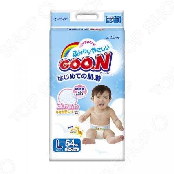 Подгузники GOO.N L (9-14 кг)
