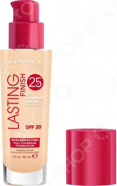 Крем тональный Rimmel Lasting Finish Comfort Found тональная основа rimmel lasting finish 25h foundation with comfort serum 200 цвет 200 soft beige variant hex name f5b18c