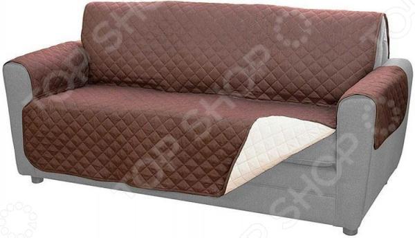 Покрывало для дивана двустороннее Ricotio 1747040