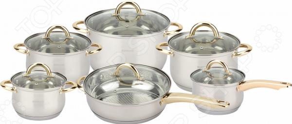 Набор кухонной посуды Bohmann BH-1212G ковш bohmann bh 2318
