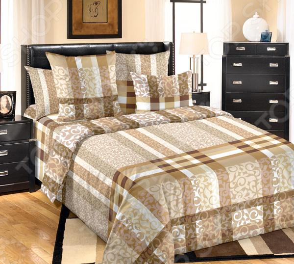 Фото Комплект постельного белья Белиссимо «Бруно»