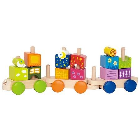 Купить Поезд-пирамидка Hape Phantasia Blocks Train
