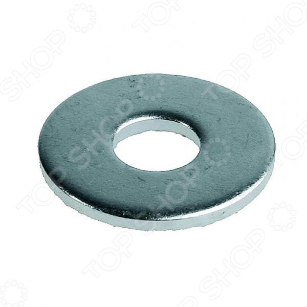 Набор шайб кузовных Зубр DIN 9021 увеличенная шайба качественный крепеж плоская din 9021 м10 80 шт 0300967 кч