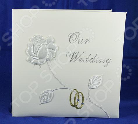 Фотоальбом свадебный ручной работы 139306