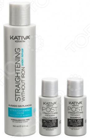 Набор для выпрямления волос Kativa «Восстановление»