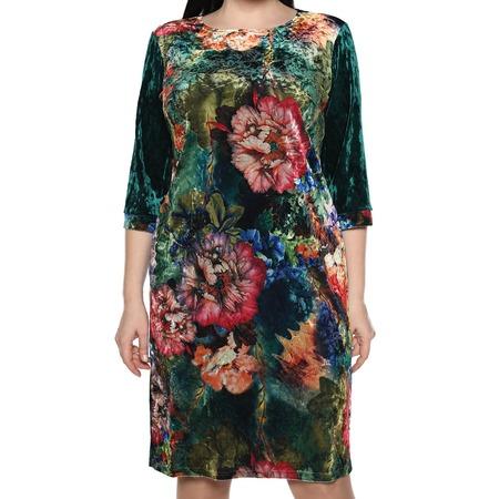 Купить Платье Лауме-Лайн «Будь собой». Цвет: изумрудный