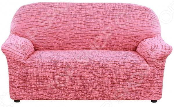 Натяжной чехол  двухместный диван Еврочехол «Тела Ридже»
