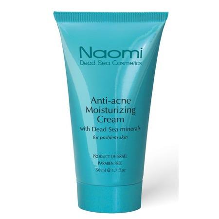 Купить Крем от акне для жирной и проблемной кожи Naomi Active Moisturising With Dead Sea Minerals