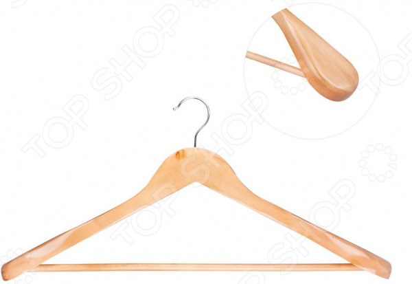 Вешалка-плечики для верхней одежды Miolla VM-3 блузки и рубашки