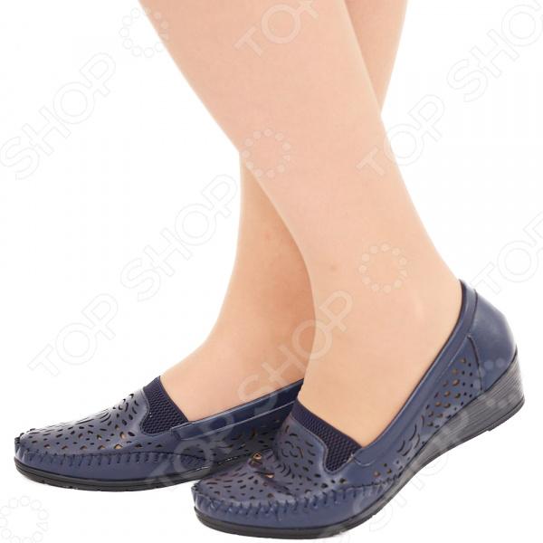Туфли EGO «Арго». Цвет: темно-синий