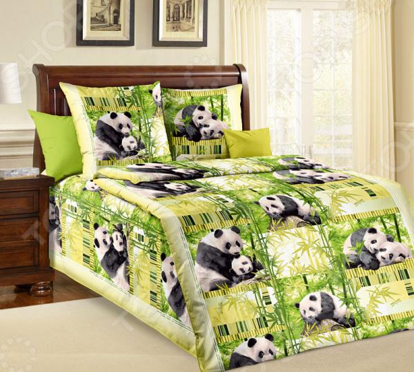 Детский комплект постел белья ТексДизайн «Панды»