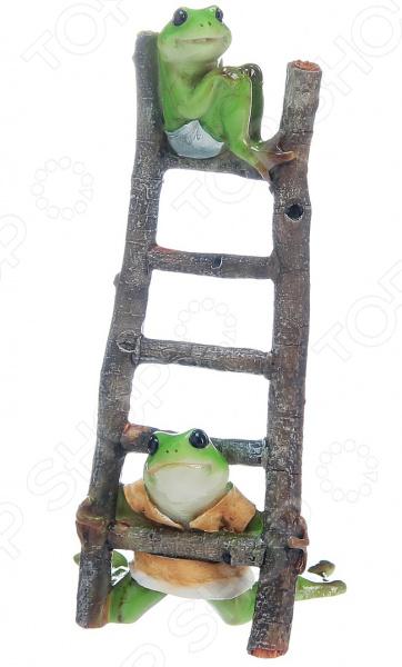 Фигурка декоративная Elan Gallery «Лягушки на лестнице»