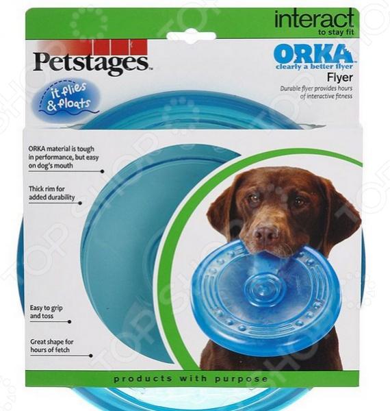 Игрушка для собак Petstages ОРКА «Летающая тарелка» игрушка sport elite летающая тарелка малая 356 28255926