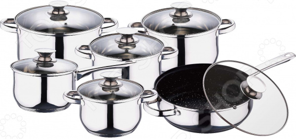 Набор посуды Wellberg WB-1106