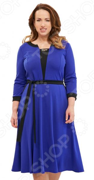 Платье Матекс «Счастливая женщина». Цвет: васильковый туника матекс донна цвет васильковый