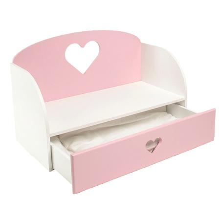 Купить Диван-кровать для куклы PAREMO «Сердце»