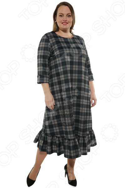 Платье De-Linda «Шотландка»