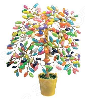 Набор для детского творчества Азбука тойс «Дерево из бусин: Карамельное» набор для плетения lori брелоки совушка из бусин от 7 лет бус 034