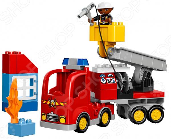Конструктор игровой LEGO «Пожарный грузовик»