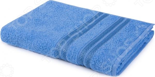Полотенце махровое Aquarelle «Адриатика». Цвет: синий