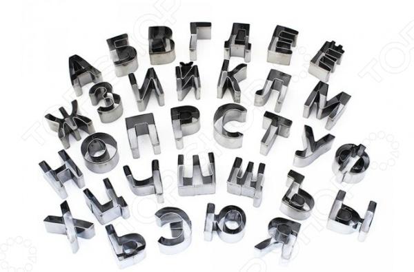 Набор форм для печенья KH-2877 «Буквы»