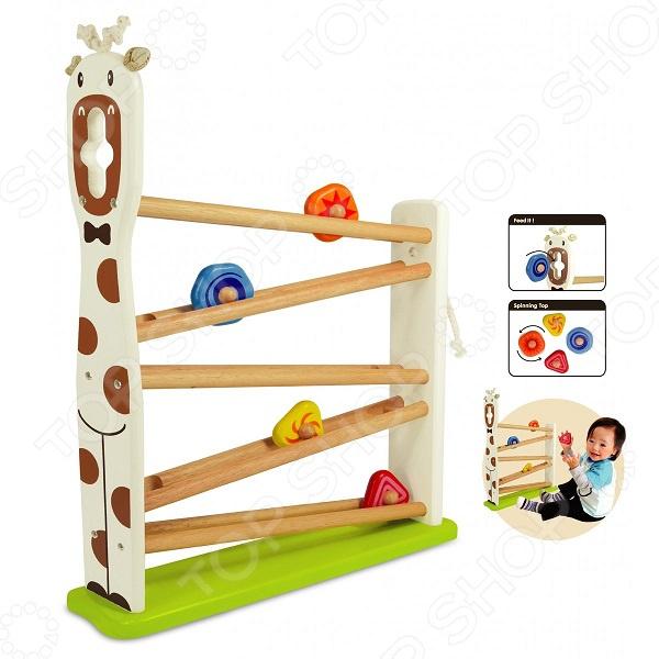 Игрушка развивающая для малыша I'm toy «Жирафик»
