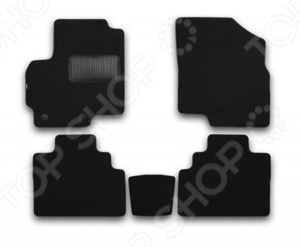 Комплект ковриков в салон автомобиля Klever Chery Tiggo T21 2014 Premium фаркоп chery tiggo 3 без электрики 2017