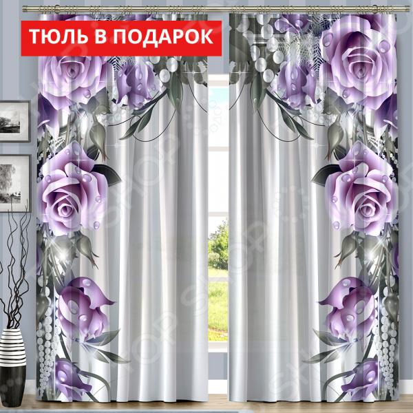 Komplekt-fotoshtor-Vesennyaya-skazka-Cvet-fioletovyee-rozy-Ucenennyj-tovar-5024702