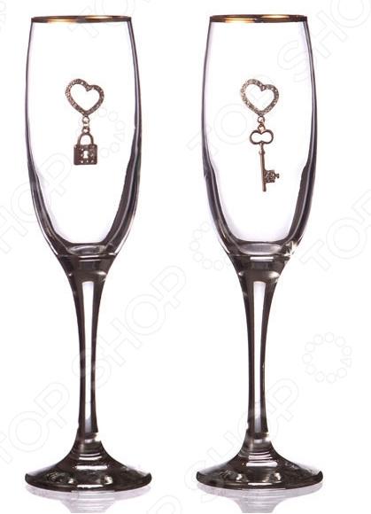 Набор бокалов для шампанского 802-510643 набор бокалов для бренди коралл 40600 q8105 400 анжела