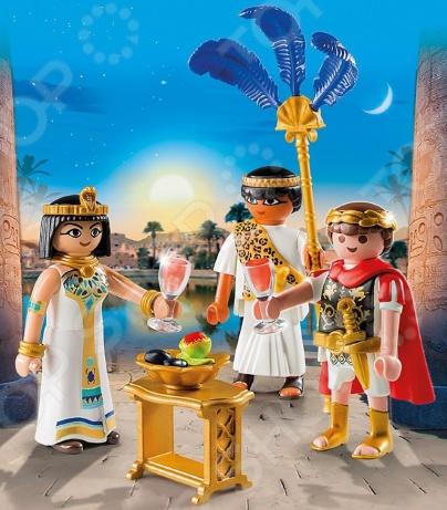 Конструктор игровой Playmobil «Римляне и Египтяне. Цезарь и Клеопатра» playmobil игровой набор римляне и египтяне римское войско