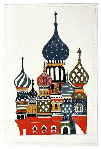 Обложка для паспорта кожаная Mitya Veselkov «Храм в цвете» mitya veselkov будка в лондоне
