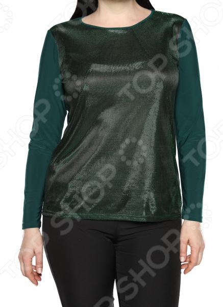 Блуза Лауме-Лайн «Чувство стиля». Цвет: темно-зеленый блуза лауме стиль заветное признание цвет черный