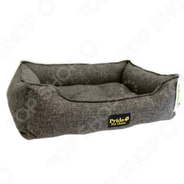 Лежак для домашних животных Pride «Прованс». Цвет: кофейный