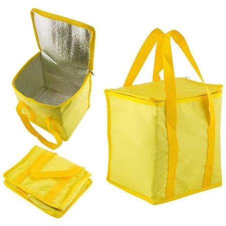 Купить Термо-сумка. Объем: 15 л. Цвет: желтый