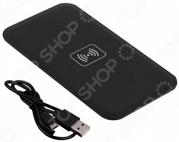 Аккумулятор для смартфонов беспроводной плоский Bradex с Micro USB разъемом Аккумулятор для смартфонов беспроводной плоский Bradex SU 0052 /Черный
