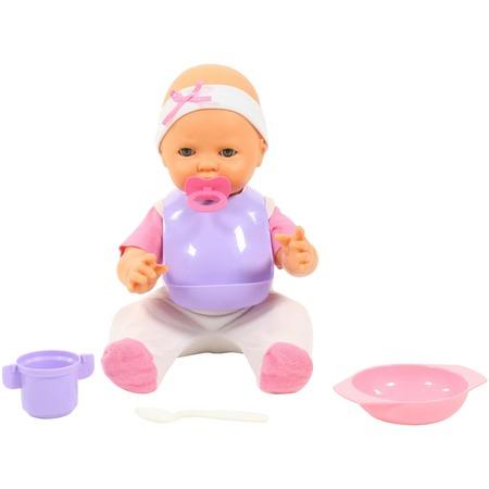 Купить Набор: кукла и принадлежности для кормления POLESIE «Забавный пупс» 71484