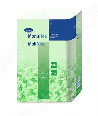 Пеленки впитывающие Hartman MoliNea Plus. Размер: 90х60 см. 10 шт