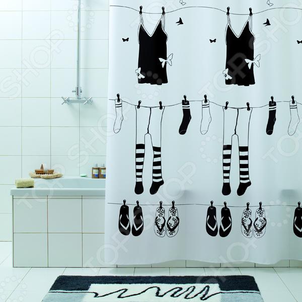 Фото - Штора для ванной Bacchetta Rue de Papillion кольца swarovski 5412018 17