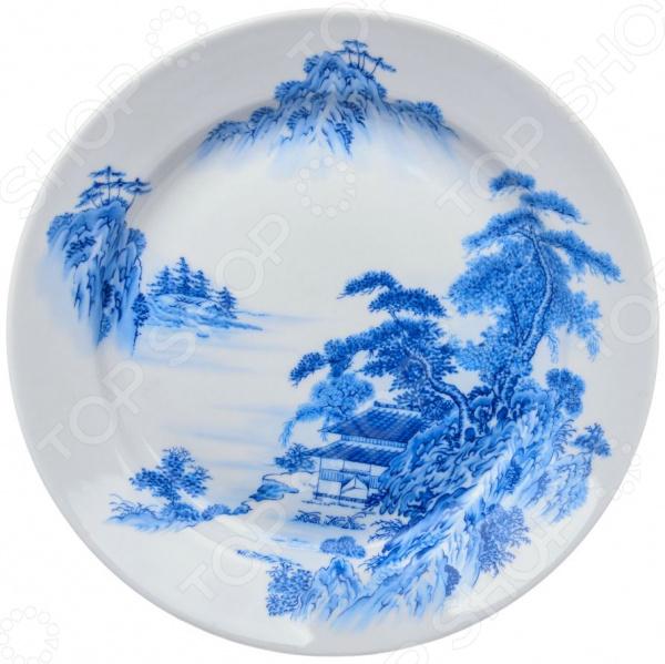 Тарелка десертная Дулевский Фарфор «Азия»