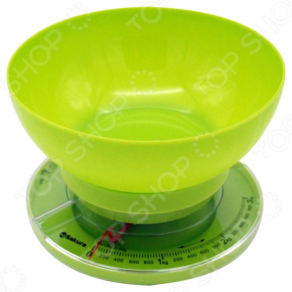 Весы кухонные Sakura SA-6008GR